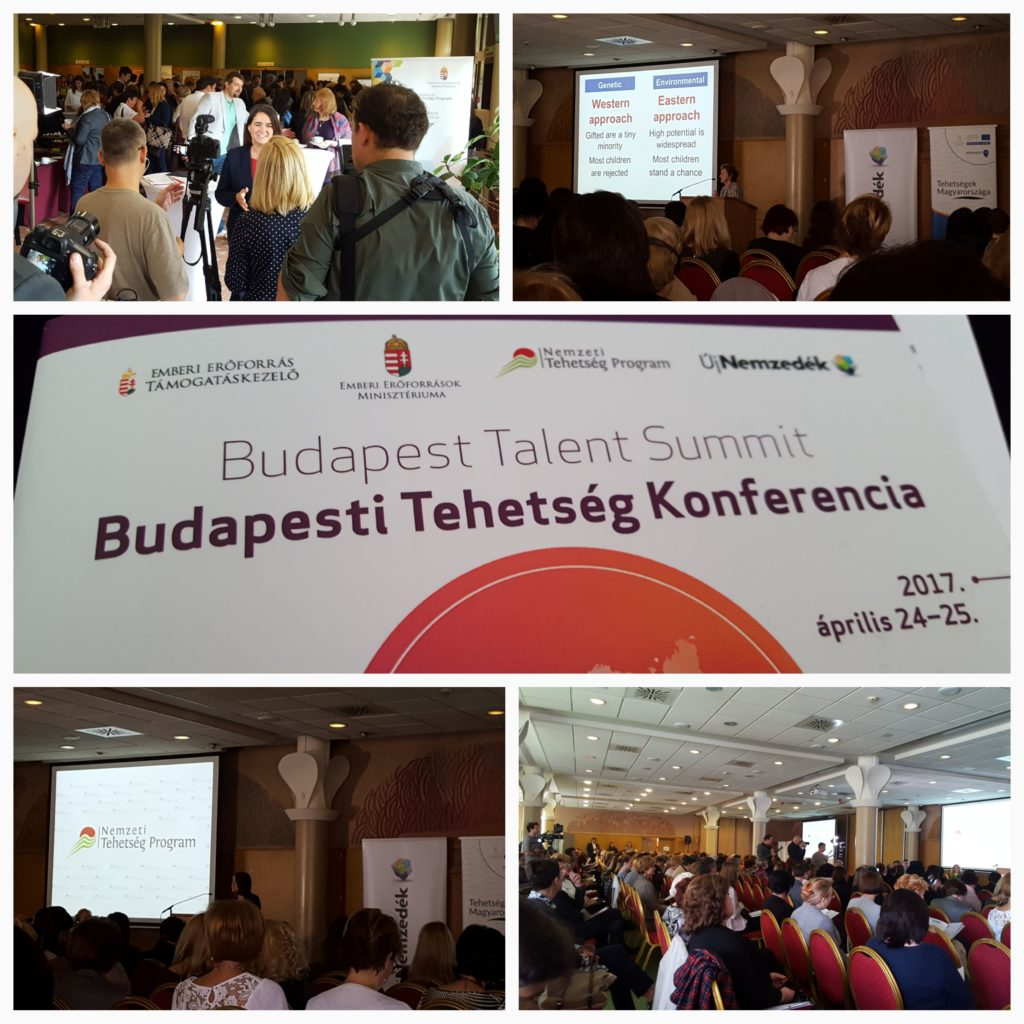 A Budapest Talent Summit-on a Nagyberegi Református Líceum tanárai