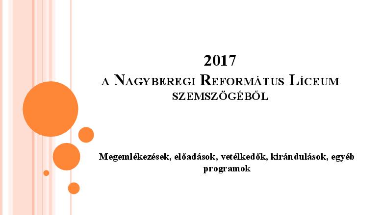 Történések 2017 (2. negyedév)